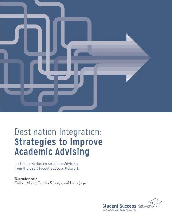 Destination Integration: Strategies to Improve Academic Advising