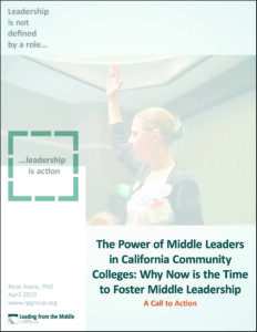 Power of Middle Leaders in CCC Cover